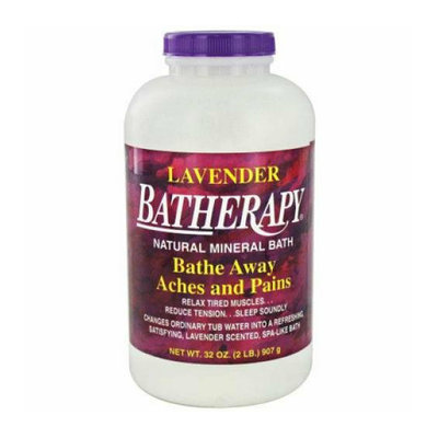 Queen Helene Batherapy Mineral Bath Salts Lavender 2 lbs