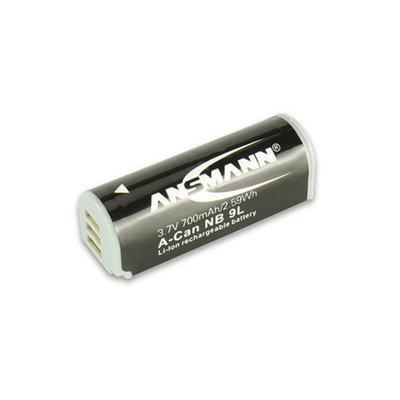 Ansmann 1400-0011 Ansmann 1400-0011 3.7 Volt A-Can NB9L 700mAh Lithium Replacement Battery for Canon