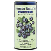 The Republic of Tea, Blueberry Green Tea, 50-Count