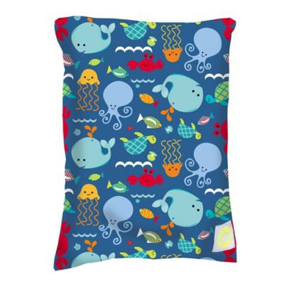 Itzy Ritzy Travel Happens Sealed Wet Bag Medium Under the Sea - Itzy Ritzy Diaper and Baby Accessories