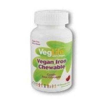 Vegan Iron Chewable VegLife 60 Chewable Tablet