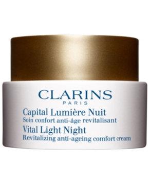 Clarins Vital Light Comfort Night Cream for Dry Skin