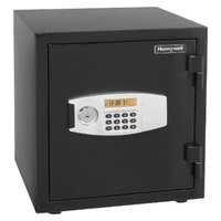 Honeywell Fire Safe: Securities Safe: 1.23 Cu. Ft. Water Resistant Steel Fire &