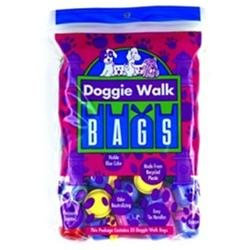 Doggie Walk Bags Baby Powder Dog Classic Waste Bag in Blue