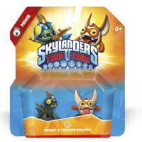 Activision Skylanders Trap Team Minis - Drobit and Trigger Snappy