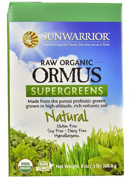 Sunwarrior Raw Organic Ormus Supergreens Natural 8 oz