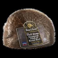 Boar's Head Roast Beef Seasoned Filet Well Done