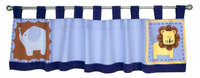 Test Trend Lab Jungle 123 - Window Valance Blue
