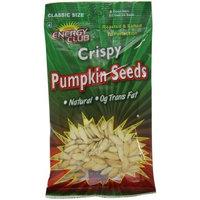 Energy Club Crispy Pumpkin Seeds, 3.50-Ounce Bags (Pack of 6)