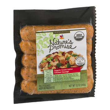 Nature's Promise Organic Sweet Italian Chicken Sausage