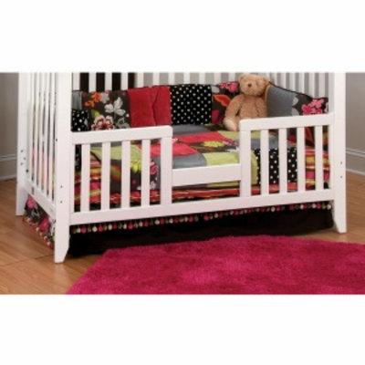 Child Craft Toddler Guard Rail for Logan Lifetime Convertible Crib, Matte White, 1 ea