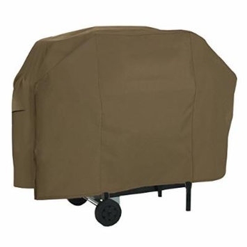Classic Accessories 55-601-046601-EC Gas Grill Cover, Maverick Brown, Up To 65-Inch, Large