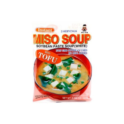 Shinsyu-ichi Instant Miso Soup (Soybean Paste Soup /White) - 2.24oz Pack of 3