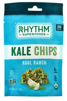 Rhythm Superfoods Llc KALE CHIPS, OG2, KOOL RANCH, (Pack of 18)