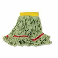 Rubbermaid Commercial Newell  C25106GR00 Shrinkless Wetmop Small Shrinkless - Looped-End Cotton/Synth