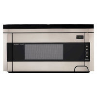Sharp 1.5 Cu. Ft. 1000W Over-the-Range Microwave Oven with Concealed