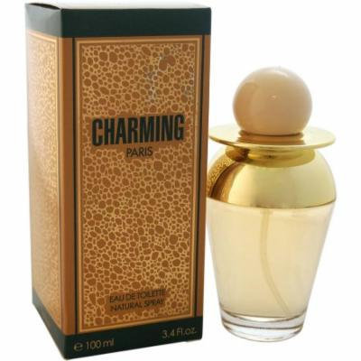 Christine Darvin Charming Eau de Toilette Spray for Women, 3.4 fl oz