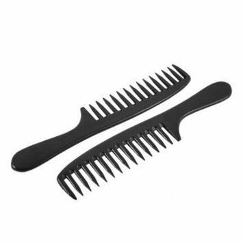 Hair Care Portable Detangling Comb Wide Tooth 2 Pcs