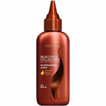Clairol Professional Beautiful Collection Semi-permanent Hair Color, Jet Black, 3 oz
