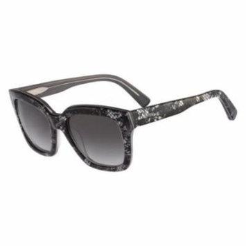 VALENTINO Sunglasses V667S 049 Silver Pearl Lace 52MM
