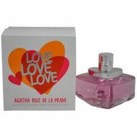 Agatha Ruiz De la Prada Love EDT Spray, 2.7 fl oz