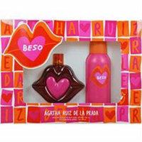 Agatha Ruiz De la Prada Beso EDT Spray, 3.4 fl oz