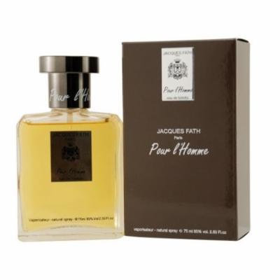 FATH POUR L'HOMME Jacques Fath 2.5 oz EDT spray Mens Cologne 75 ml NIB