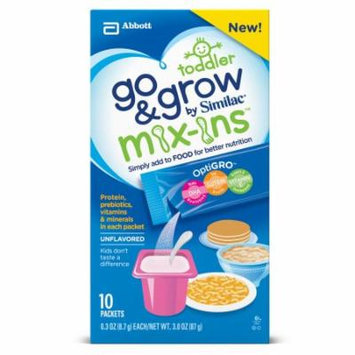 Go & Grow Mix-Ins by Similac NON-GMO Unflavored, 0.3 oz packet (4 - 10 packs)