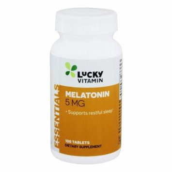 LuckyVitamin - Melatonin 5 mg. - 100 Tablets