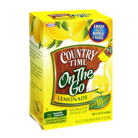 Country Time On The Go Lemonade Flavor Drink Mix- 10 CT