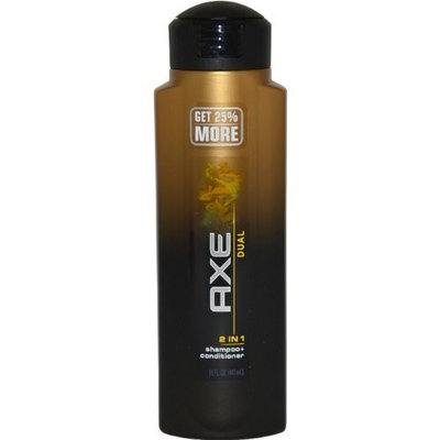Dual 2 In 1 Shampoo And Conditioner by AXE, 15 Ounce