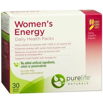 PureLife Naturals Women's Energy Daily Health Packs