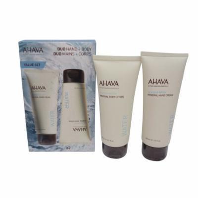 AHAVA Deadsea Water Mineral Hand & Body Cream Duo