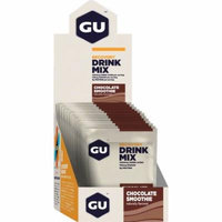GU Recovery Brew Drink Mix: Chocolate, 12 Pack