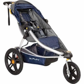 Burley Solstice Stroller: Navy and Gray