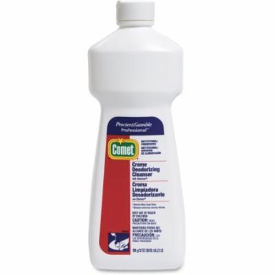 Comet Creme Deodorizing Cleanser - Liquid Solution - 32 oz (2 lb) - 1 Each - White