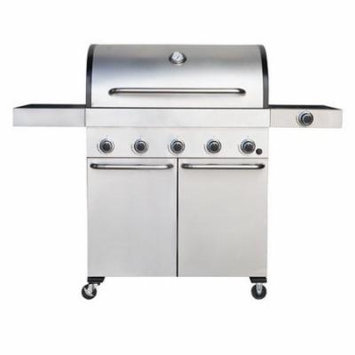 Barbeques Galore Captain Cook 5-burner Freestanding Gas Grill