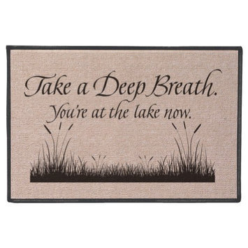 Wireless Take a Deep Breath Mat - Lake