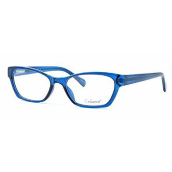 Enhance Optical Designer Eyewear :: 3903 Eyeglasses in Cobalt ; DEMO LENS