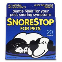 Snore Stop For Pets 20 Tablets