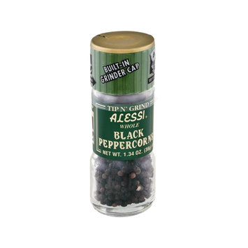 Alessi Tip N' Grind Whole Black Peppercorns