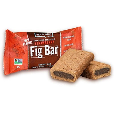 Nature's Bakery Natures Bakery Whole Wheat Strawberry Fig Bar, 2 Ounce -- 12 per case.