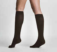 Sigvaris All Season Wool 242CLSW11 20-30mm. Hg Large Short Women Calf Brown