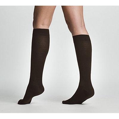 Sigvaris All Season Wool 242CLSW11 20-30mm. Hg Large Short Women Calf Brown