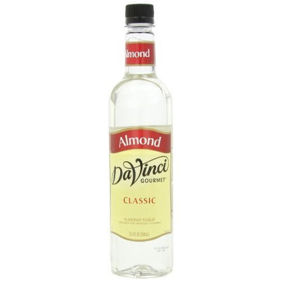 DaVinci Gourmet Classic Syrup, Almond, 25.4 Ounce (Pack of 3)