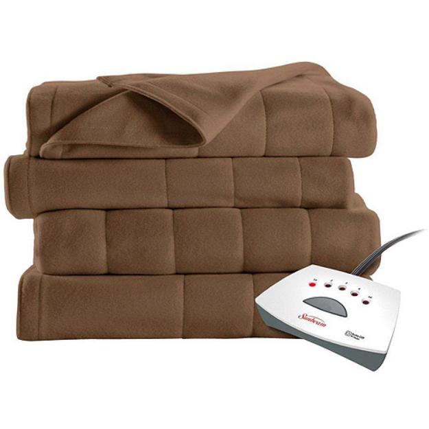 Sunbeam Heated Fleece Electric Blanket