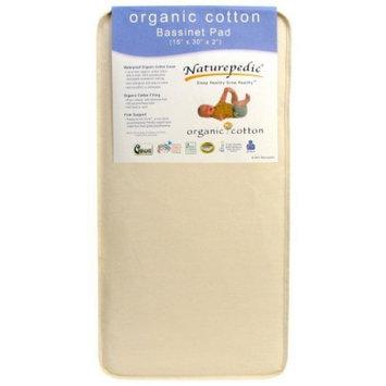 Bassinet Foam Mattress: Naturepedic Organic Cotton Bassinet Mattress