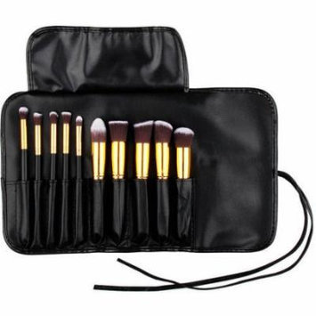 Bliss & Grace Kabuki Brush Set, 11 pc