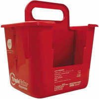 Sani Professional Triple Take Table Turners White/Red Wipes Dispenser 3.1 lb. Container