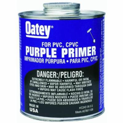 Purple Primer For PVC And CPVC Pipe And Fittings